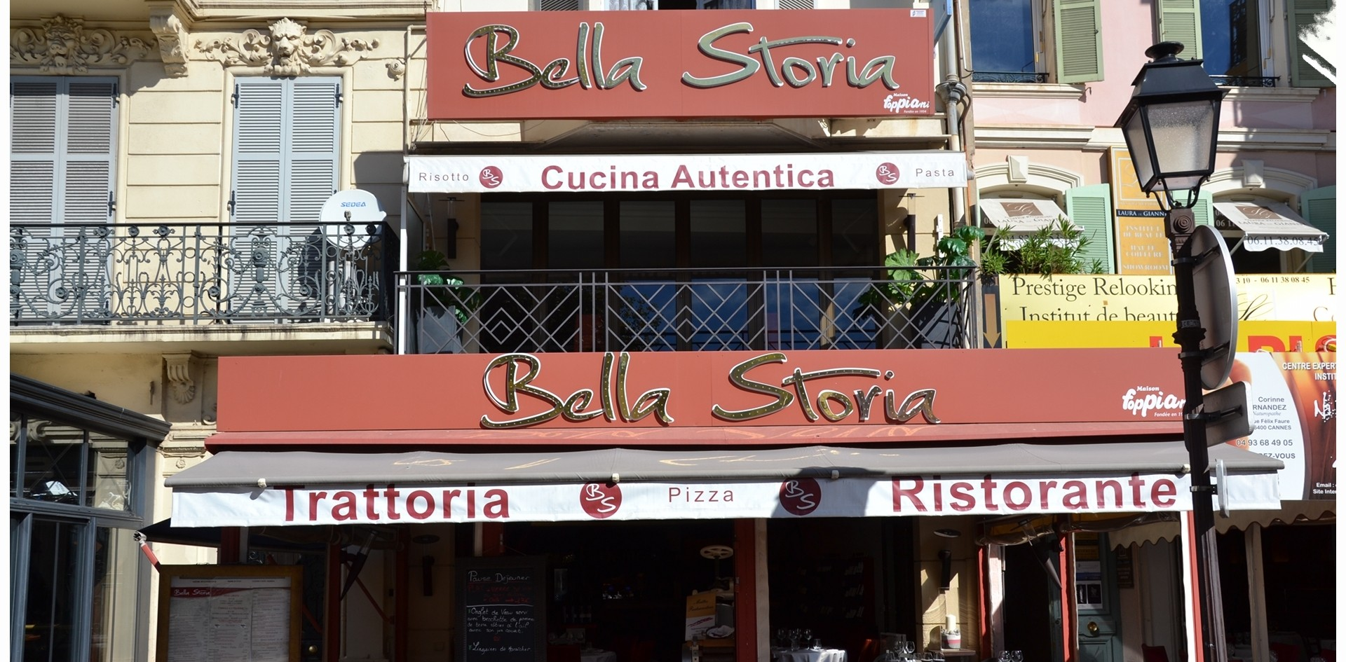 Restaurant in Cannes: Bella Storia