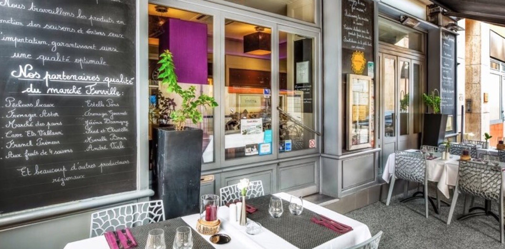 Restaurant in Cannes: Le Bistrot Gourmand