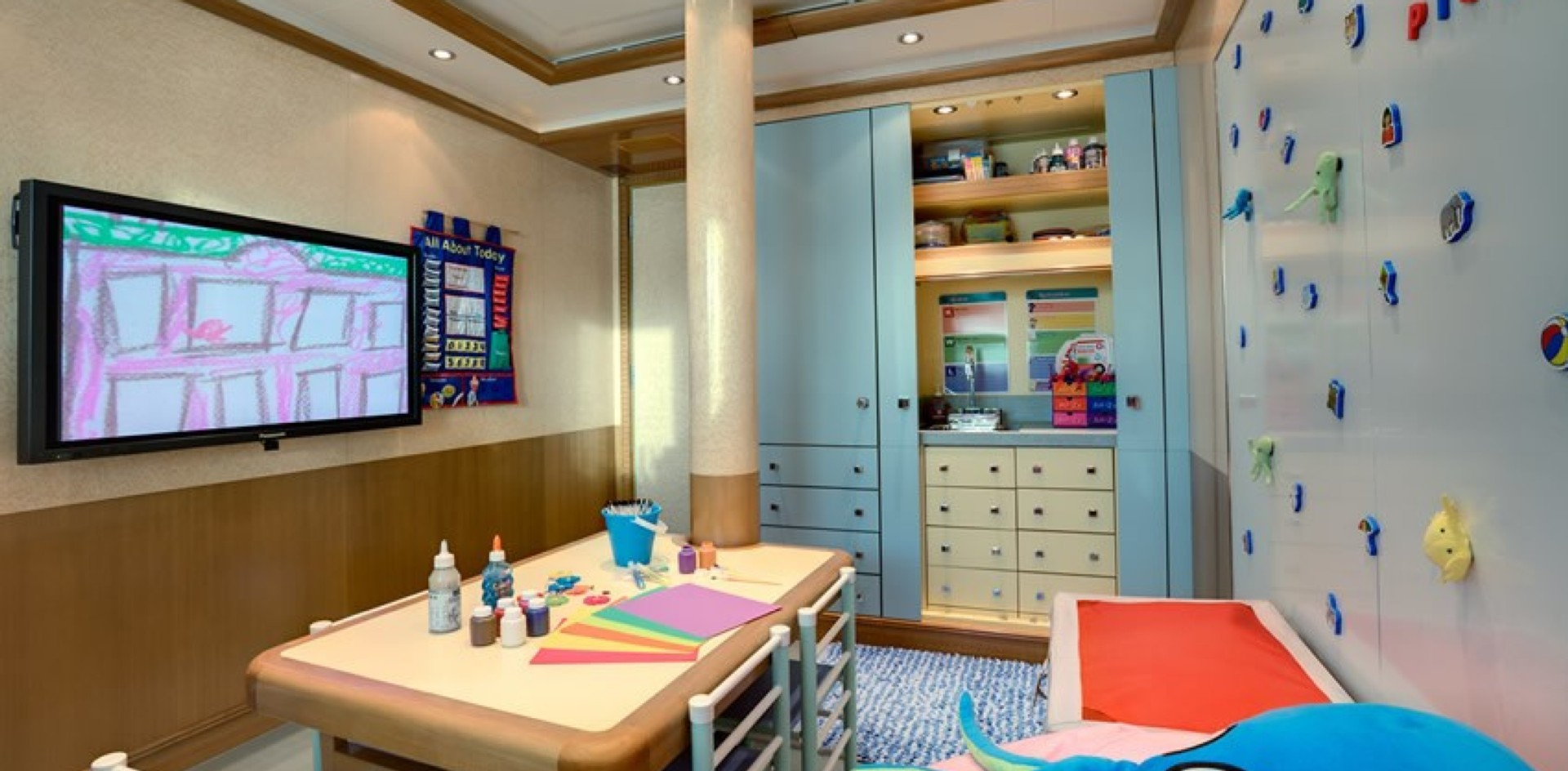 PEGASUS VIII: The best children's area onboard a yacht