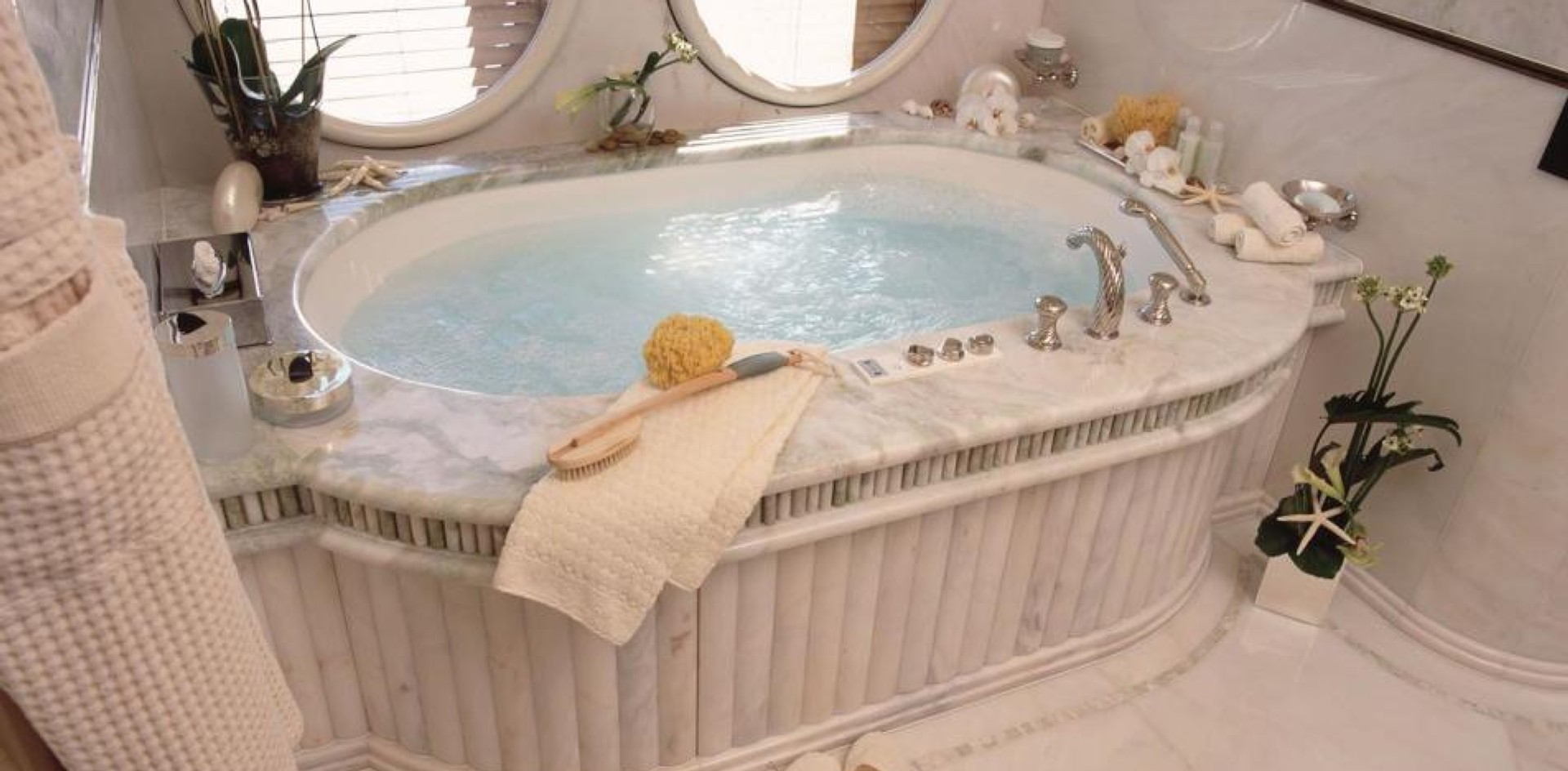 The best bath on board a yacht…