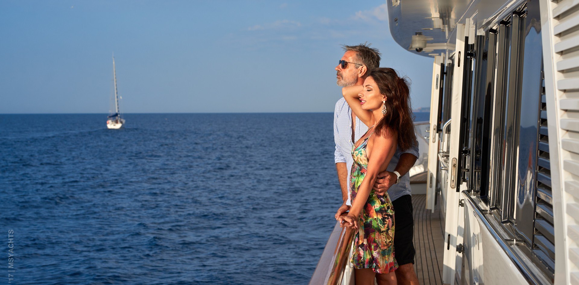 Make you Valentine's day the best ever on board a yacht