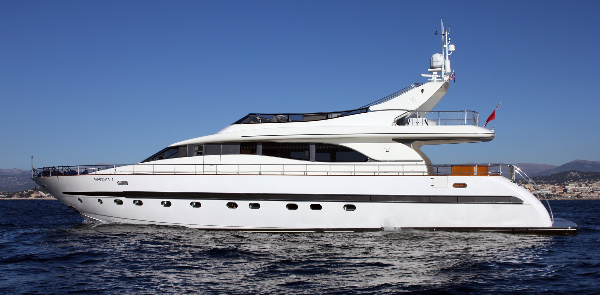Yacht for sale of the week: M/Y Magenta