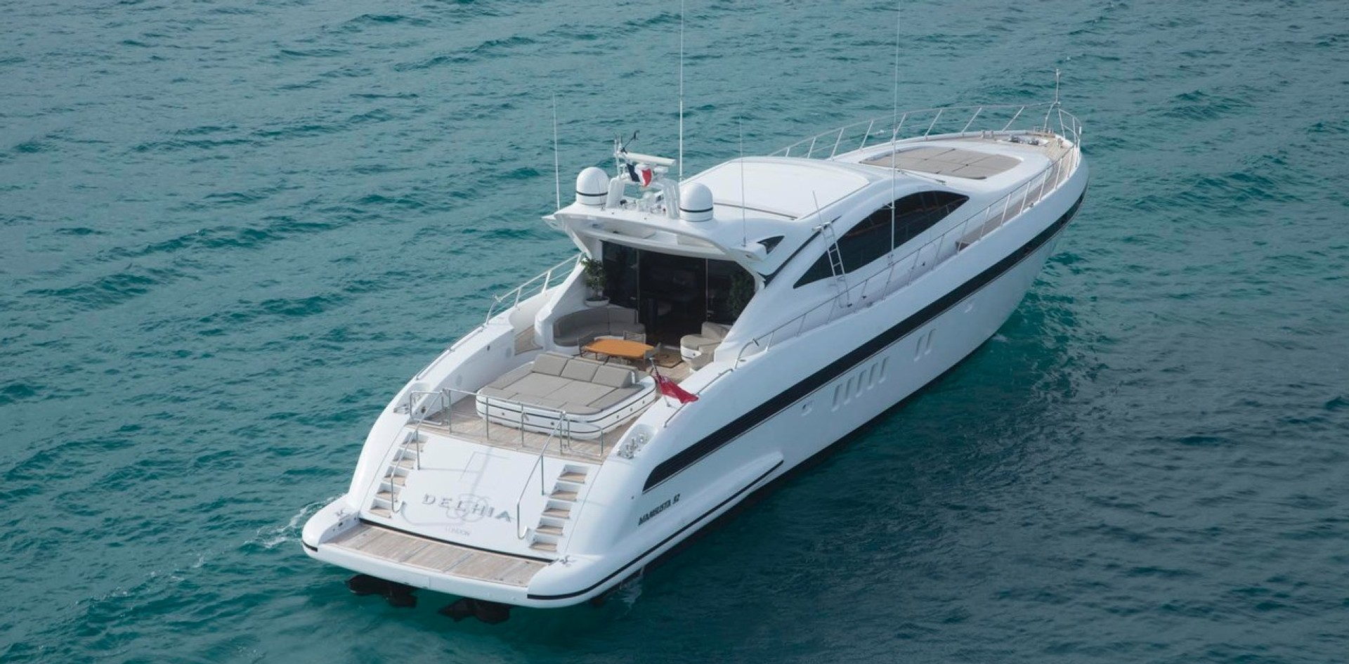 Yacht for sale of the week: Mangusta 92