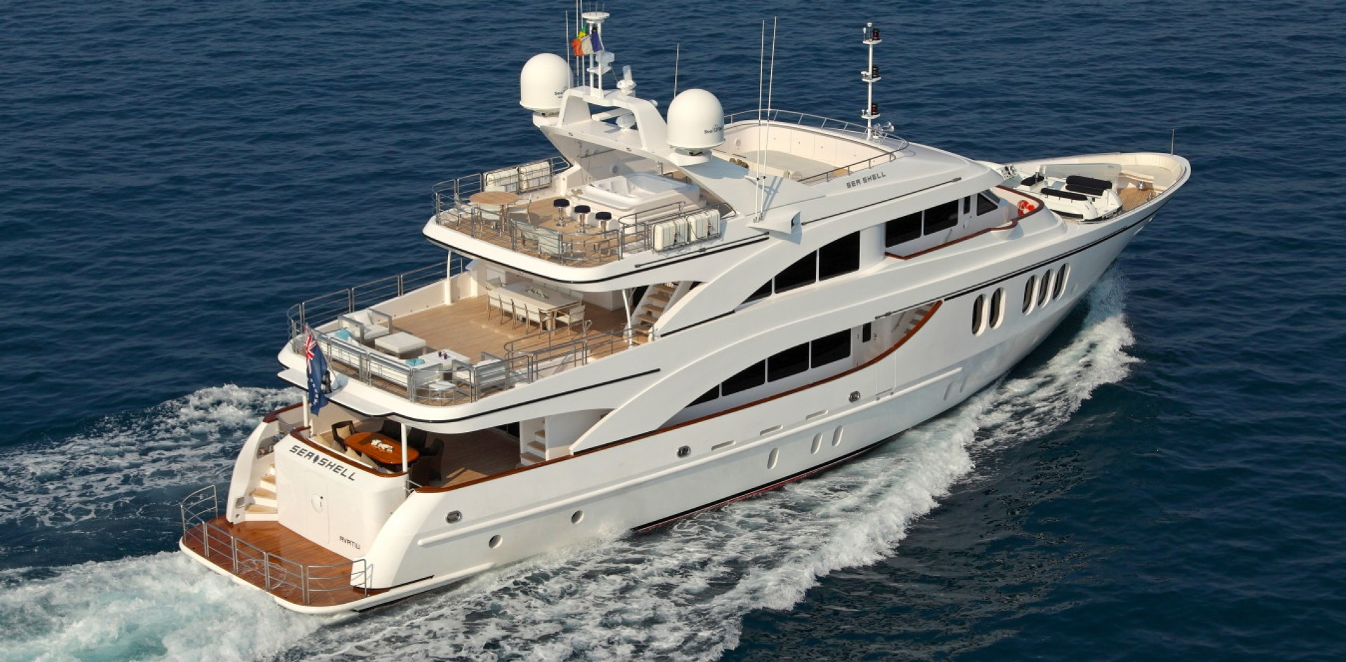 Finally on the market: M/Y Sea Shell