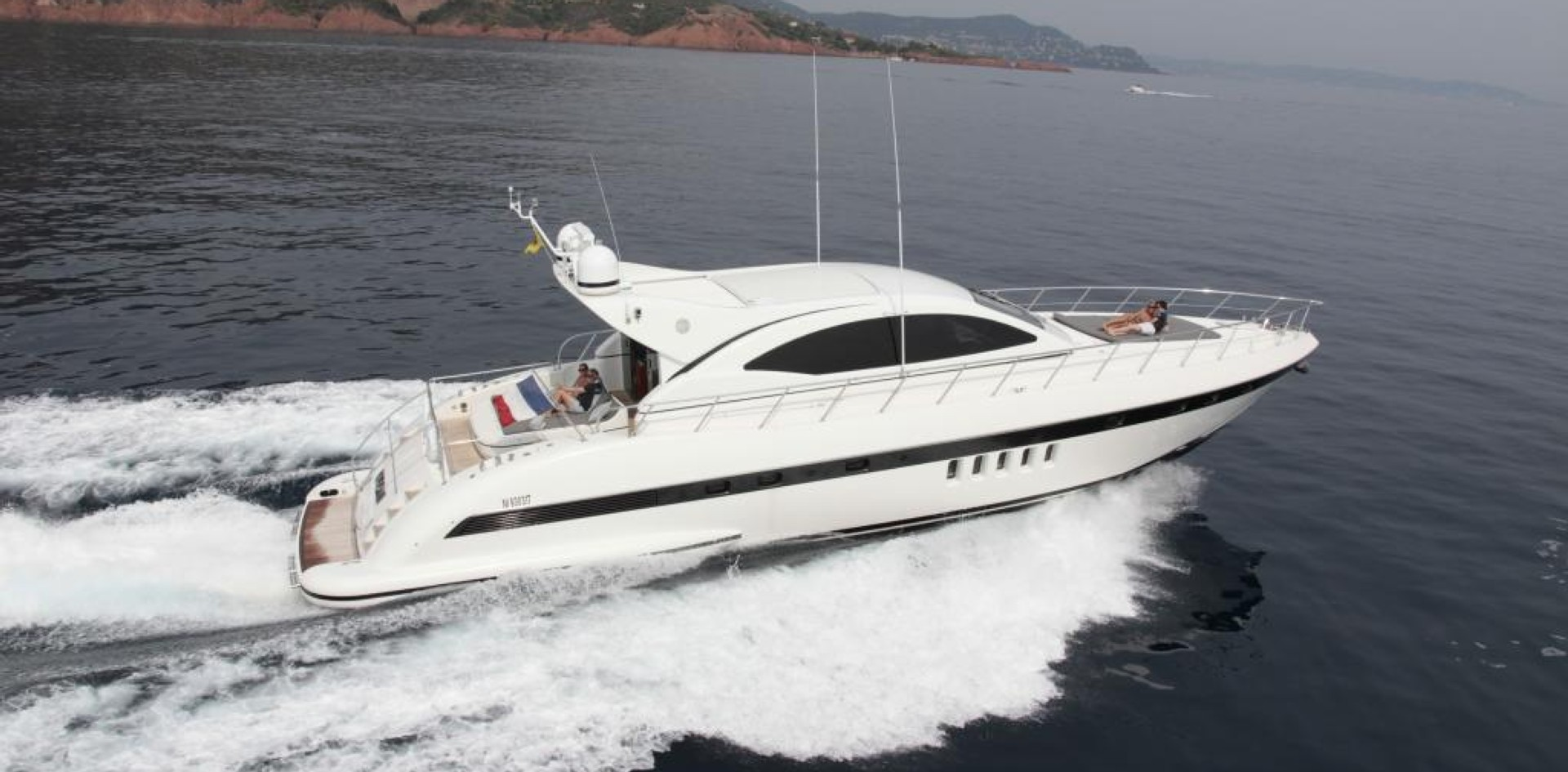 Yacht for sale of the week: Mangusta 72